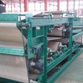 供应带式污泥脱水机 浓缩式压滤机 自动清洗