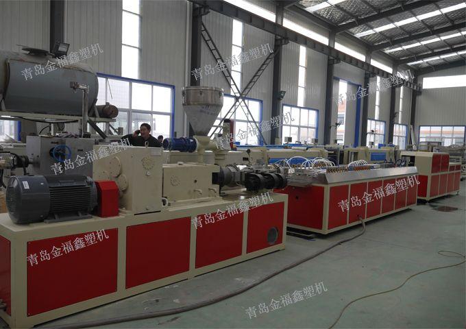 PVC木塑墙板设备生产线