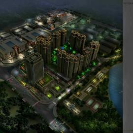 四川商业亮化工程专业厂家 承接各类照明亮化