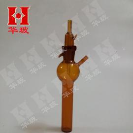 1696棕色撞击式冲击式气体吸收管 采样管 吸收瓶10ml