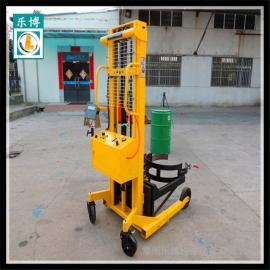 30公斤油桶搬运秤 手推油桶搬运车秤 常州乐博油桶秤