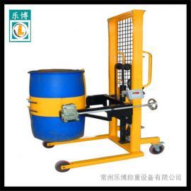 倒油桶电子秤 500公斤油桶车电子秤 油桶搬运车电子秤