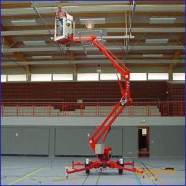 移动式升降平台折臂式升降机载重200kg升高10m
