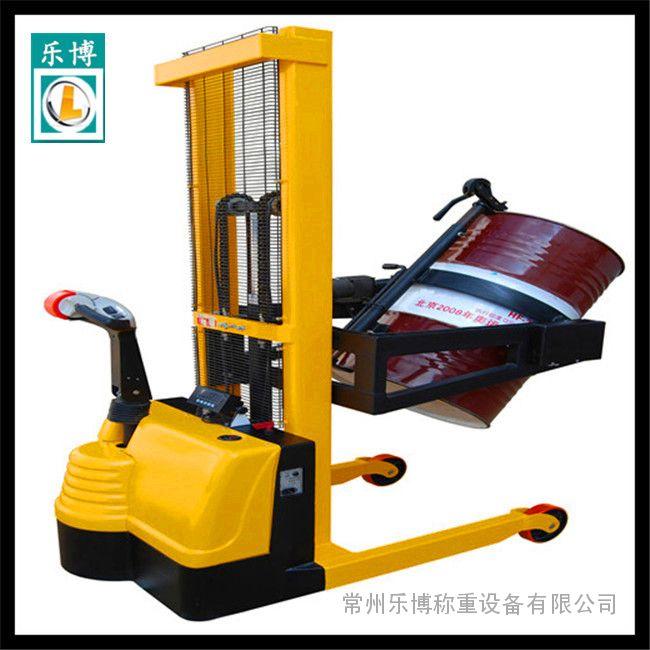 半自动倒桶电子秤 550公斤价格油桶电子称