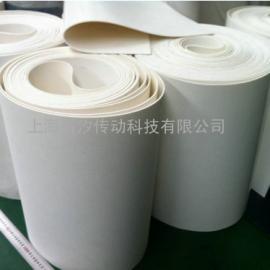 食品白色耐油pu输送带