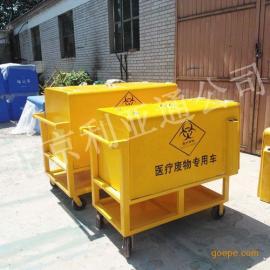 厂家供应医疗专用手推保洁车医用驳运垃圾车医院三轮废物收集车