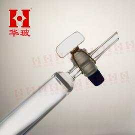 玻璃活塞层析柱 具标口砂芯厚壁层析柱 30*300/24# 现货