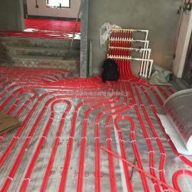北京怀柔别墅地暖施工