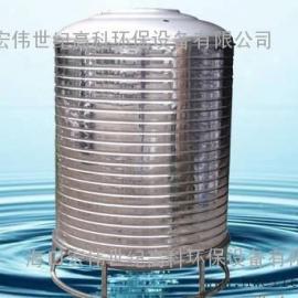 海口立式不锈钢圆形水箱