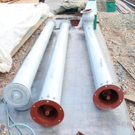管式螺旋输送机除尘器输送机管式输送设备