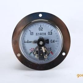 真空电接点压力表YX-100ZT乐清厂家批发面板安装-0.1-0