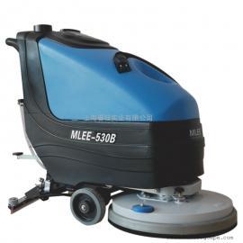 超市购物广场大厅用洗地机电动手推式洗地机大型库房用清洗机