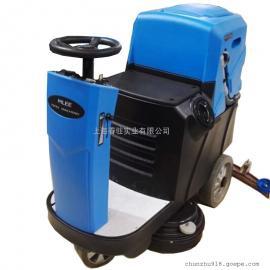 工业厂房环氧地面用清洗机驾驶式地下车库用电动清洗机