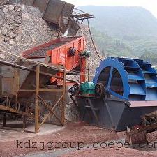 昆明轮斗式洗砂机云南滇重矿机的轮式洗沙脱泥设备流失少绿色节能