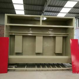 3米无泵水幕 环保水帘柜 漆雾处理柜