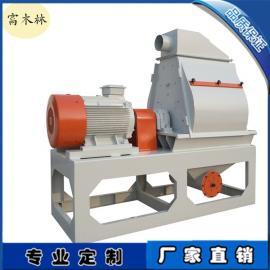 木屑稻壳磨粉机 青岛木粉机生产厂家 木粉生产线设备安装