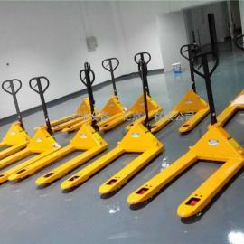 2吨手动液压搬运车 液压叉车 手动托盘搬运车 北京地牛厂家