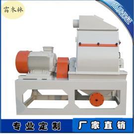 青岛锤片式磨粉机供应商 稻壳谷糠专用粉碎设备及木粉机