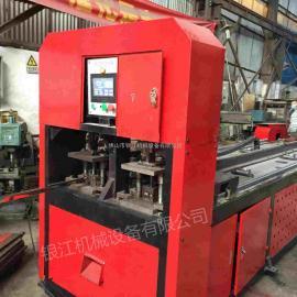 全自动锌钢护栏数控液压打孔机银江机械厂家特价直销