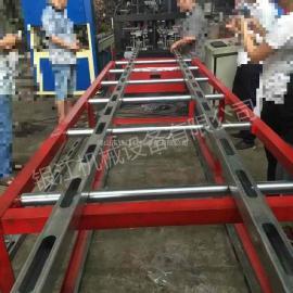 钢木方管全自动冲孔机