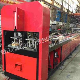 银江机械全自动锌钢护栏冲孔机YJ-ZD-ROB80-A1