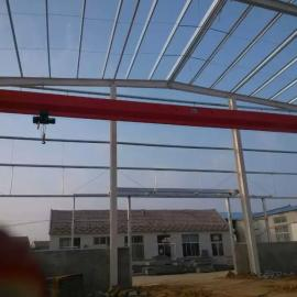 青岛起重机销售,青岛5吨10吨16吨22.5米单梁行吊报价