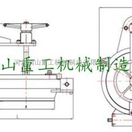 DN150-DN900三瓣卡箍式  插扣式快开盲板厂家价格