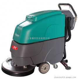 格瑞勒手推式电动洗地机 工厂 车间 商务楼保洁用洗地机