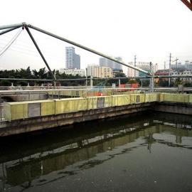 南宁埌东污水池加盖除臭,废臭气收集净化,钢支撑反吊膜