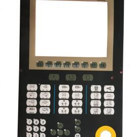 台中精机注塑机盟立MJ8000操作面板按键贴纸