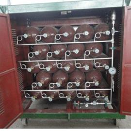 CNG气瓶 集装箱 汽化器