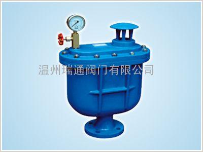 复合式排气阀主要外形及连接尺寸   型 号 公称通径      dn(mm)图片