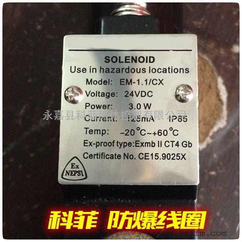 EM-1.1/CX防爆电磁阀头