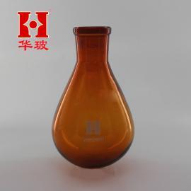 棕色茄形烧瓶250ml/24 茄形瓶