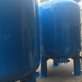 15吨流量碳钢机械过滤罐 碳钢内衬胶砂滤罐