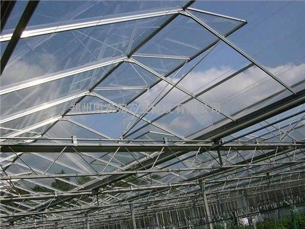 温室大棚电动顶开窗设计