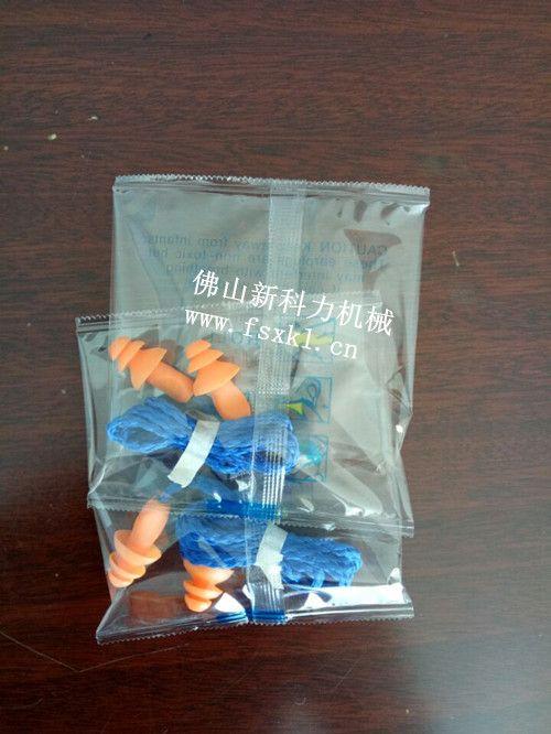 耳塞,耳机自动包装机,单个塑料件产品防噪音耳机包装机