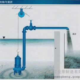 潜水渣浆泵参数_潜水渣浆泵_强能工业泵ZJQ100-S