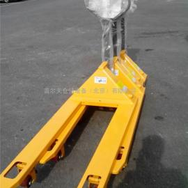 正品如意西林手动液压搬运车 2.5吨3吨手动叉车 拖车地牛