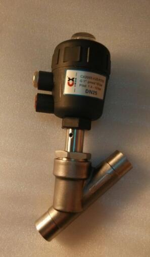 首页 产品展示 截止阀系列 气动角座阀 >> 气动焊接角座阀 y665w-16r图片