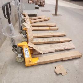 北京搬运叉车2吨2.5吨3吨 手动托盘搬运车 液压手拉叉车