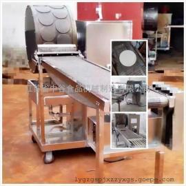 河南鹤壁-z600型不锈钢变频系统家用防手工圆形春卷皮机