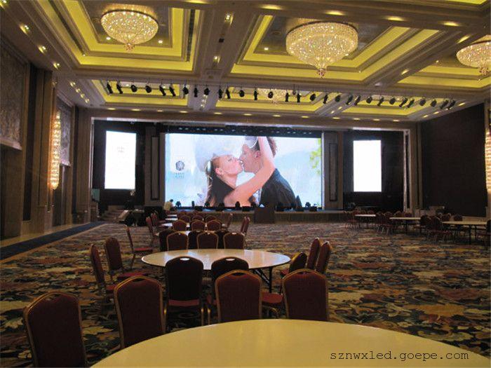 会议室幕墙led电子屏背景墙深圳厂家价格