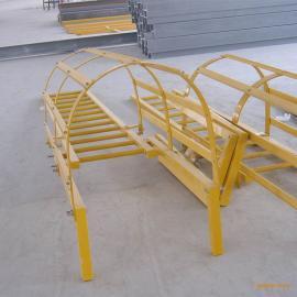 内蒙大型变电站检修绝缘爬梯/深井耐腐蚀玻璃钢防护安全爬梯厂