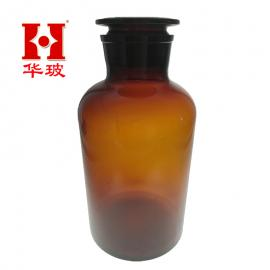 优质棕色大口试剂瓶60ML 出口级棕色广口瓶 较好磨砂口面