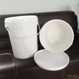 25升大口涂料桶25公斤乳胶润滑油塑料罐20升压盖食品桶