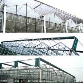 玻璃温室 大棚遮阳系统配件 齿轮齿条 托幕线 遮阳网