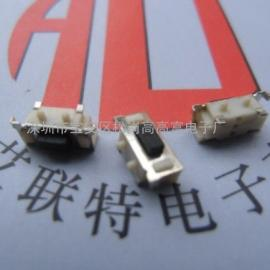 TS-017轻触开关-3*6大侧按按键(支架+带柱)
