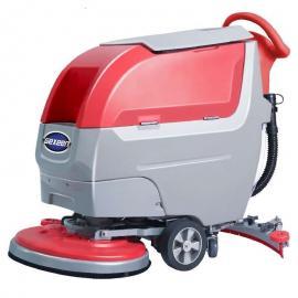 嘉得力洗地机 GT55手推式全自动洗地机