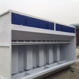 节能环保新型无泵水幕喷漆台 山东环保设备产品厂家